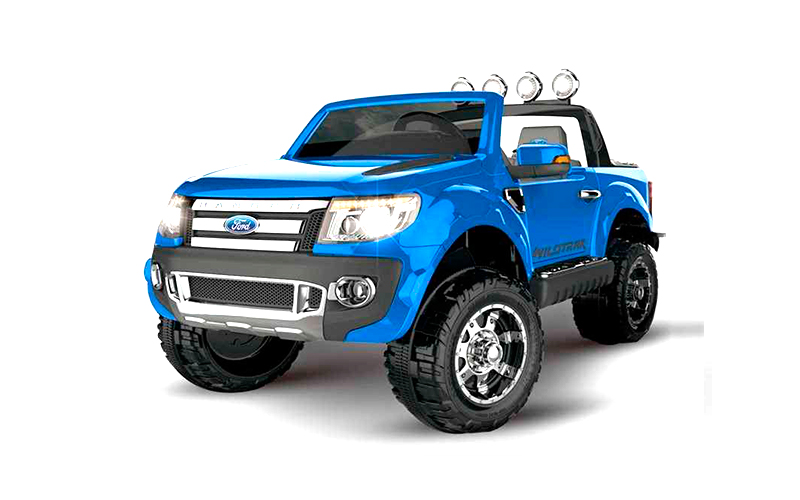 ford ranger pickup 12v azul metalizado tracketea. Black Bedroom Furniture Sets. Home Design Ideas